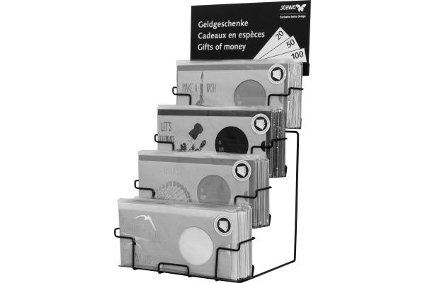 STEWO Gutscheineinverpackung Display 2589123770 klein schwarz