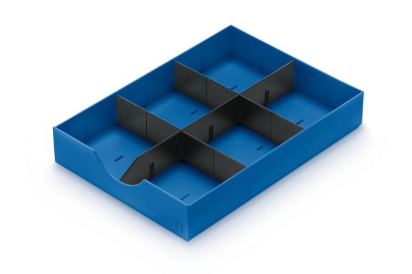 STYRO styrodoc System-Schublade 268-405.35 blau 1...