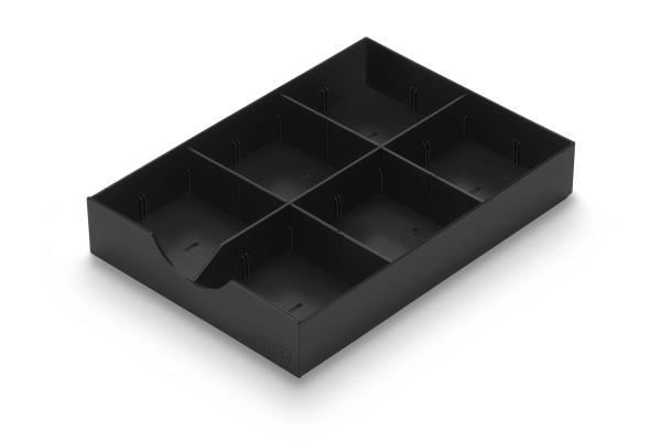 STYRO styrodoc System-Schublade 268-405.95 schwarz 1...