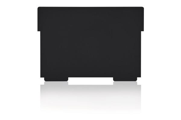 STYRO Schwenkplatte A5 30-531.90 PP recycling, schwarz 2...