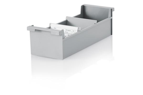 STYRO Karteikasten quer A7 30-732.85 PP recycling