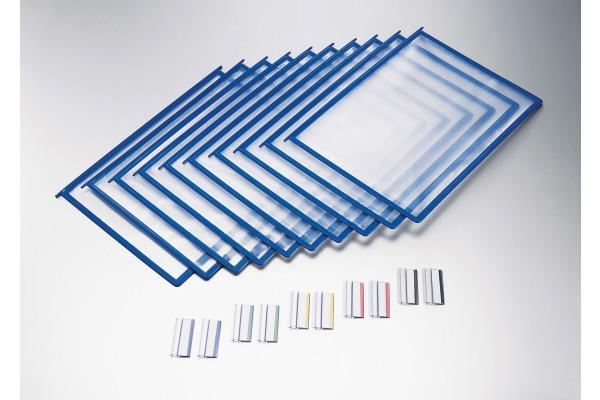 STYRO Klarsichtmappen A4 309-22435 blau 10 Stück