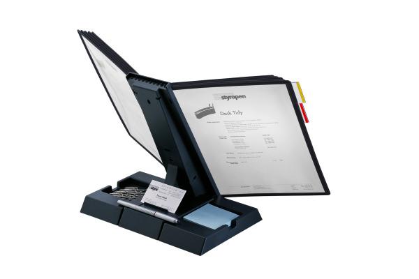 STYRO Tischeinheit styrofolder A4 310-52092 anthrazit 10 Mappen