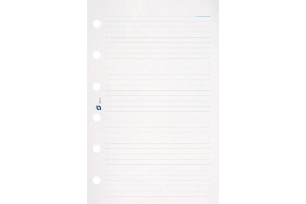SUCCES Junior Notizpapier liniert 0842010.0 weiss 80x125mm