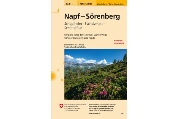 SWISSTOPO Wanderkarte Napf-Sörenberg 3321T...