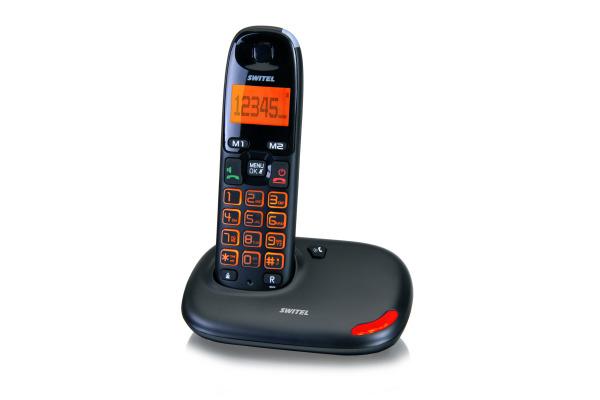 SWITEL Schnurloses Verstärker Tel. DC5001 mit XL-Tasten/Display