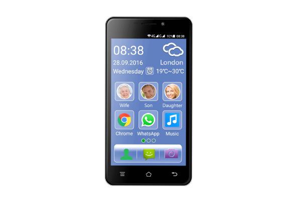 SWITEL Senior Smartphone Dual-Sim M2 ESMART