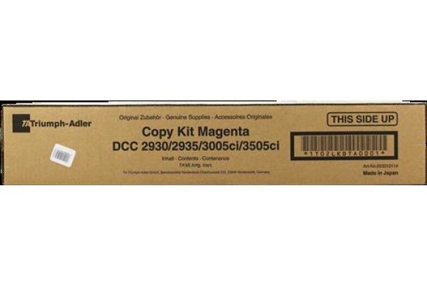 TA Toner-Kit magenta 653010114 CDC 1930 15´000 Seiten