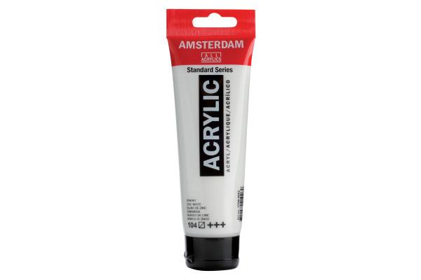 TALENS Acrylfarbe Amsterdam 120ml 17091042 zinkweiss