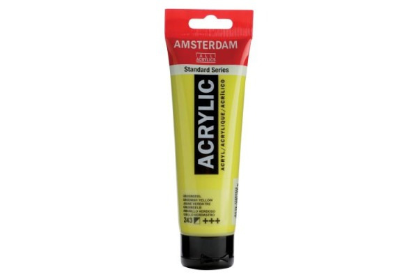 TALENS Acrylfarbe Amsterdam 120ml 17092432 gruengelb