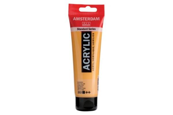 TALENS Acrylfarbe Amsterdam 120ml 17092532 goldgelb