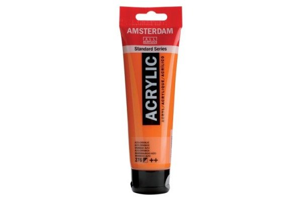 TALENS Acrylfarbe Amsterdam 120ml 17092762 azo-orange