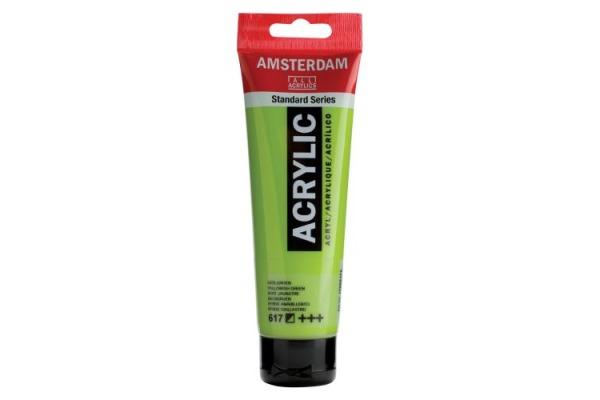 TALENS Acrylfarbe Amsterdam 120ml 17096172 gelbgruen