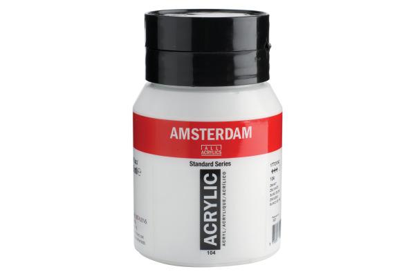 TALENS Acrylfarbe Amsterdam 500ml 17721042 zinkweiss