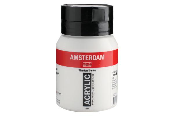TALENS Acrylfarbe Amsterdam 500ml 17721052 Titanweiss