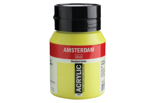TALENS Acrylfarbe Amsterdam 500ml 17722432 grüngelb