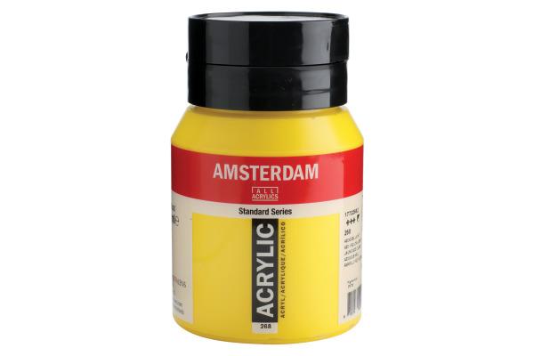 TALENS Acrylfarbe Amsterdam 500ml 17722682 Azo gelb hell