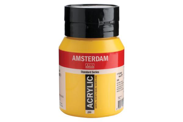 TALENS Acrylfarbe Amsterdam 500ml 17722692 azogelb mittel