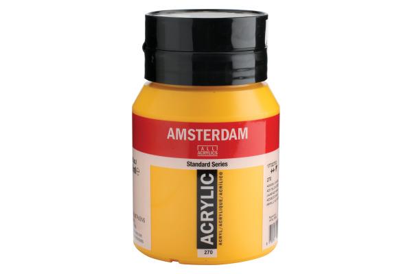 TALENS Acrylfarbe Amsterdam 500ml 17722702 azogelb dunkel