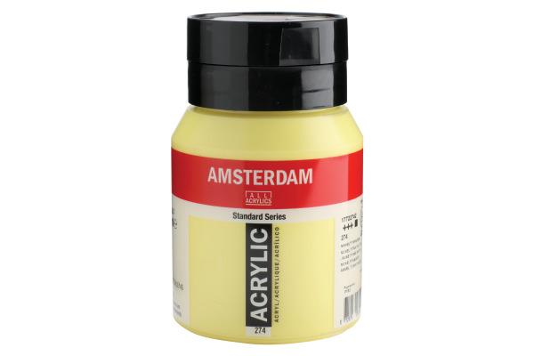 TALENS Acrylfarbe Amsterdam 500ml 17722742 nickeltitangelb