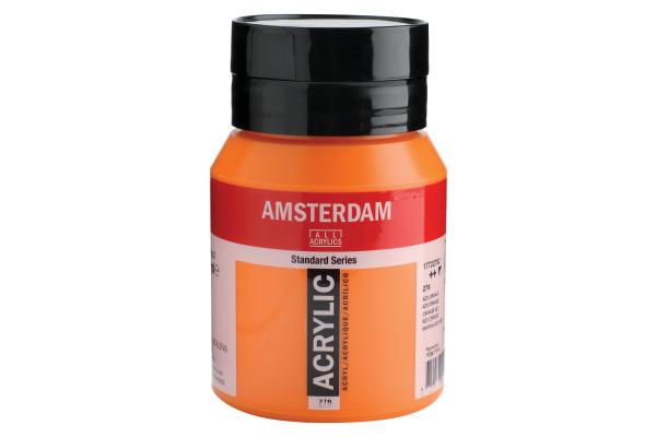 TALENS Acrylfarbe Amsterdam 500ml 17722762 Azo orange