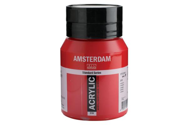 TALENS Acrylfarbe Amsterdam 500ml 17723182 karmin