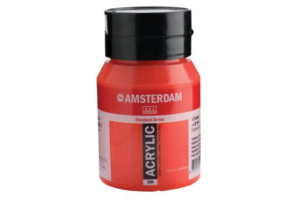 TALENS Acrylfarbe Amsterdam 500ml 17723962 Naphtholrot mittel