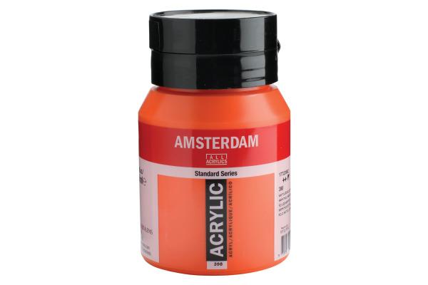 TALENS Acrylfarbe Amsterdam 500ml 17723982 Naphtolrot hell
