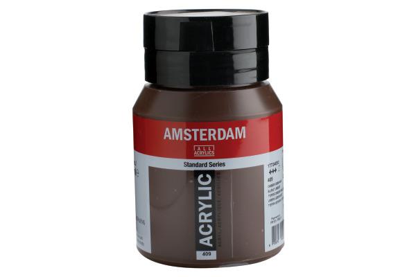 TALENS Acrylfarbe Amsterdam 500ml 17724092 Umbra gebrannt