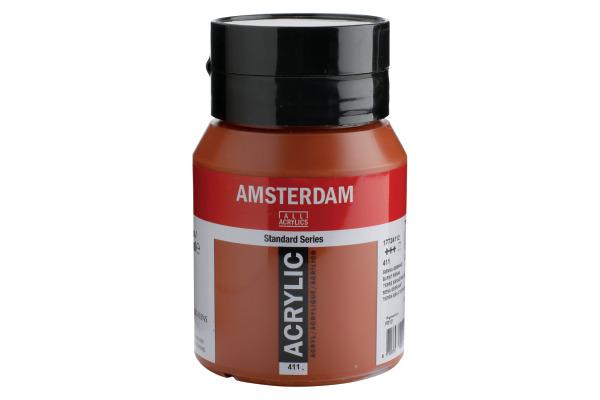 TALENS Acrylfarbe Amsterdam 500ml 17724112 Siena gebrannt