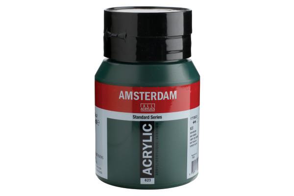 TALENS Acrylfarbe Amsterdam 500ml 17726232 saftgruen