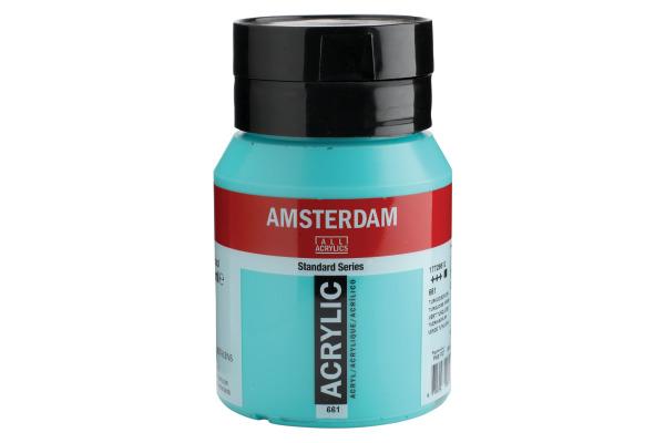 TALENS Acrylfarbe Amsterdam 500ml 17726612 türkisgrün