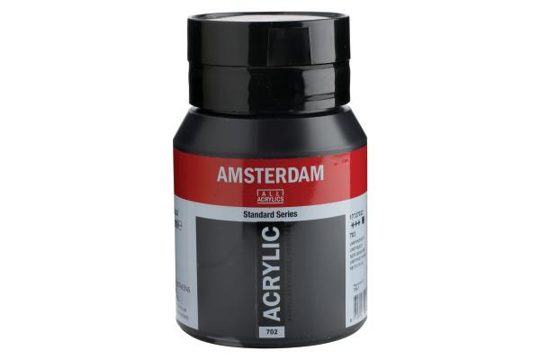 TALENS Acrylfarbe Amsterdam 500ml 17727022 lampenschwarz