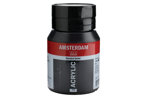 TALENS Acrylfarbe Amsterdam 500ml 17727352 oxidschwarz