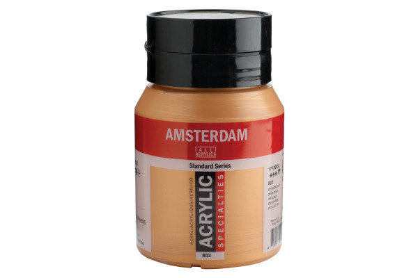 TALENS Acrylfarbe Amsterdam 500ml 17728032 goldfarbe