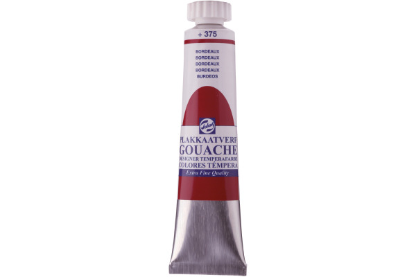 TALENS Plakatfarbe 20ml 375/7 bordeaux
