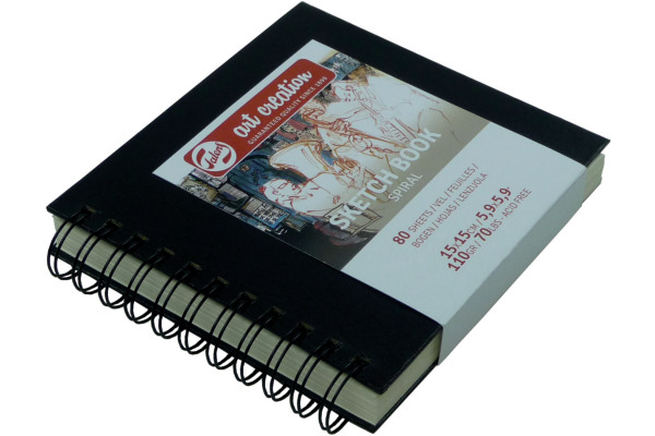 TALENS Skizzenbuch 15x15cm 9313151M Art Creation