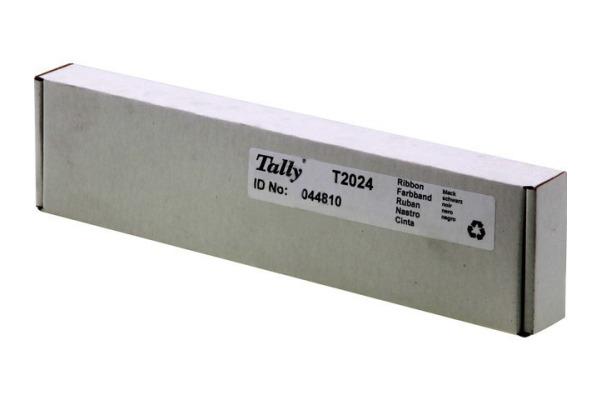 TALLY Farbband Textil schwarz 044810 T 2024/9 2,5 Mio. Zeichen
