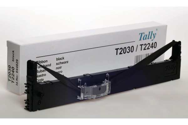 TALLY Farbband Textil schwarz 044829 T 2030 4 Mio. Zeichen