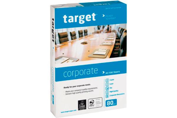 TARGET Officepapier FSC A4 317294 Corporate, 80g 500 Blatt