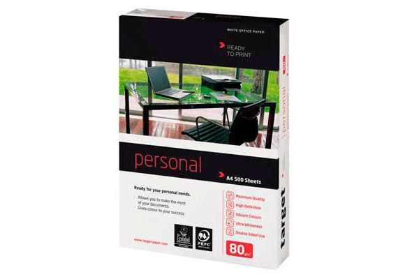 TARGET Officepapier Prestigemium FSC A4 317355 Personal, 80g 500 Blatt
