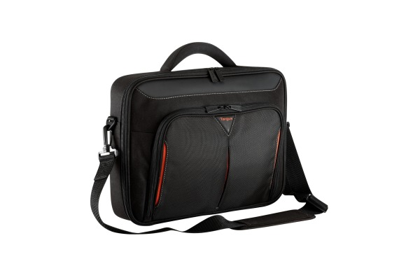 TARGUS Classic+ Clamshell CN415EU 15-15.6 Zoll black/red