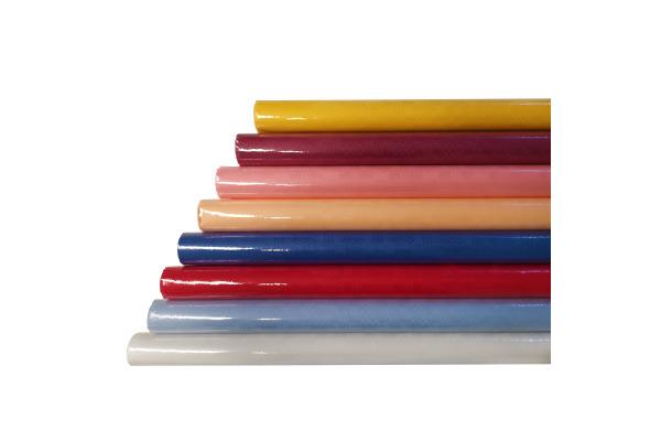 TAVOLA Tischdeckpapier 8mx120cm 2 rot Damast