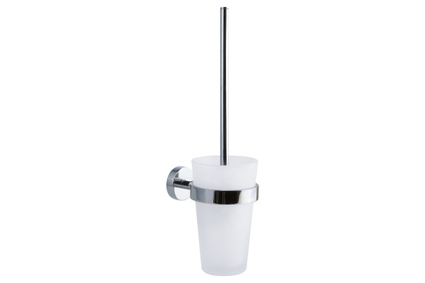 TESA Smooz WC-Bürstengarnitur 403160000 chrome, selbstklebend