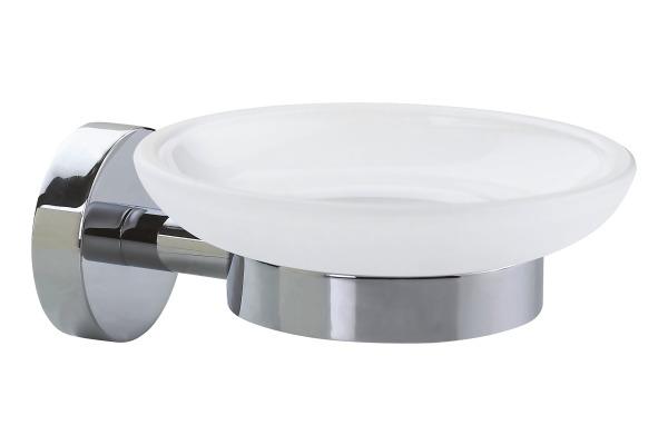 TESA Smooz Seifenhalter 403240000 chrome, selbstklebend