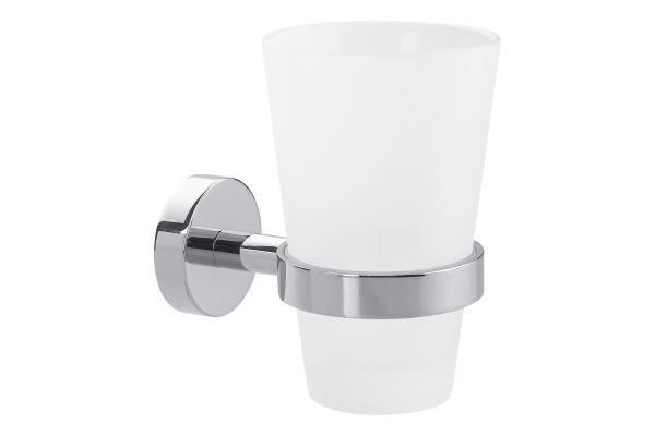 TESA Smooz Mundglashalter 403270000 chrome, selbstklebend