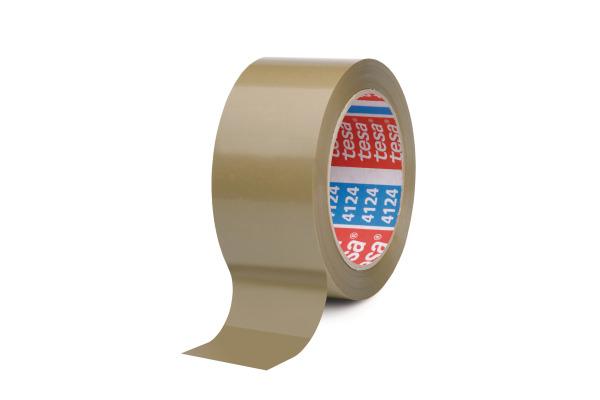 TESA Verpackungsband Ultra 19mm×66m 412400092 braun