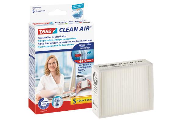 TESA Feinstaubfilter Clean 503780000 Air S, 10x8cm