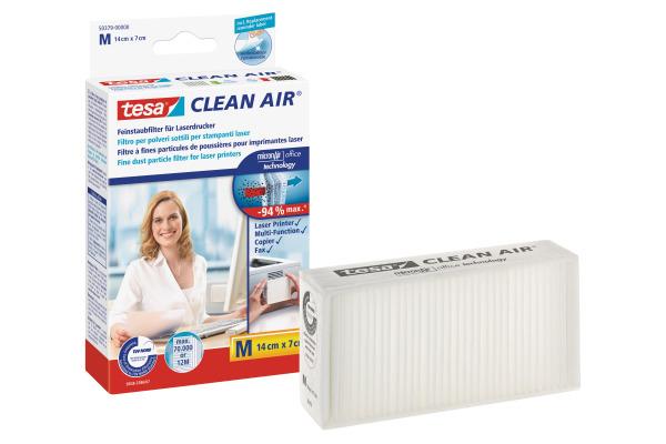 TESA Feinstaubfilter Clean 503790000 Air M, 14x7cm