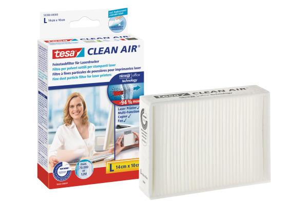 TESA Feinstaubfilter Clean 503800000 Air L, 14x10cm